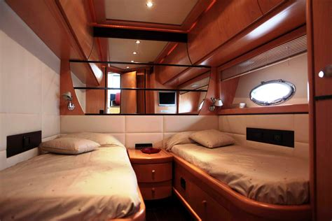 luxury bunk beds for adults fire fly yacht charter details pershing 76 charterworld
