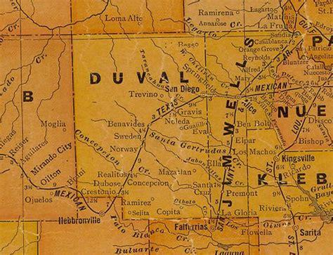 duval county texas map santa texas