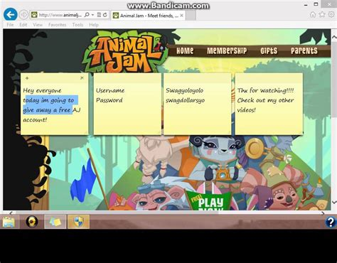 animaljam usernames and passwords 2016 palmtreepaperiecom animal jam membership hack newhairstylesformen2014 com