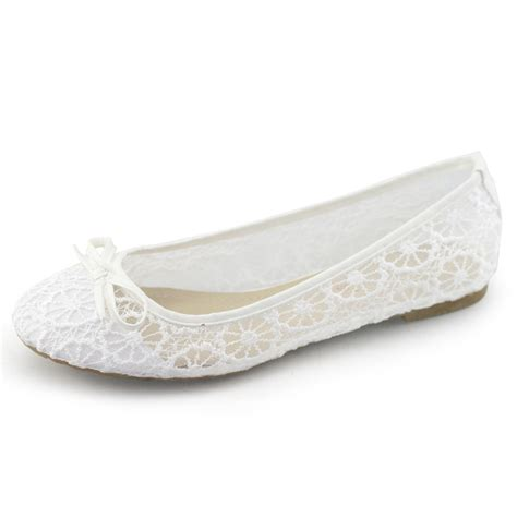 comfortable white flats handmade laras brand lace white flats women comfort shoes