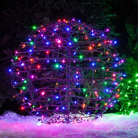 outdoor lighted spheres outdoor decorating ideas yard envy