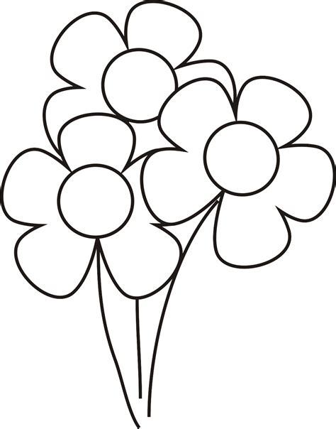 imagenes infantiles para colorear de flores im 225 genes de flores para colorear