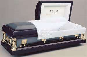 in casket photo
