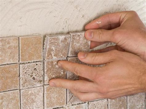 how to install a kitchen tile backsplash hgtv