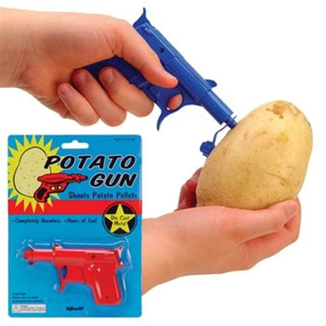 Party Favors   Goodie Bag Stuffers   Metal Potato Gun