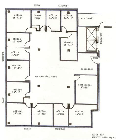 floor plan office layout 1000 images about office layouts and plans on pinterest