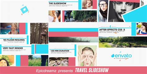Travel Slideshow Miscellaneous After Effects Templates Travel Slideshow After Effects Template