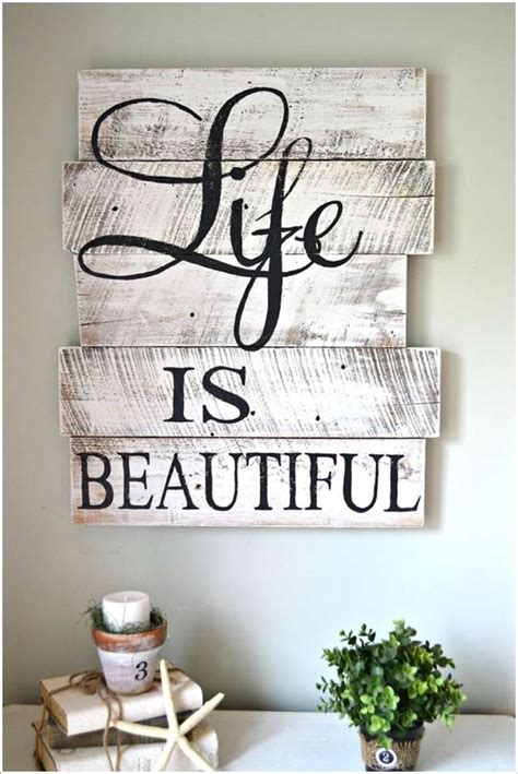 home decor wall signs 15 creative wall decor ideas with recycled pallets