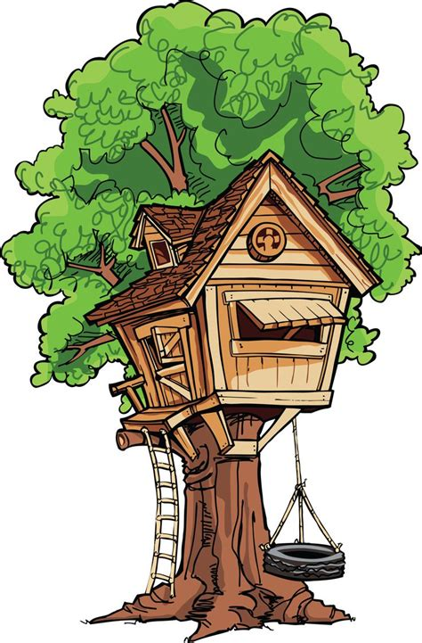 treehouse clipart clipground