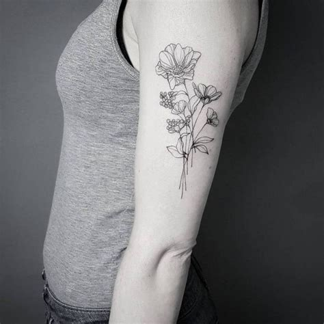 fine line tattoo style 36 best line tattoos images on line