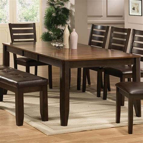 crown elliott dining table and four chairs