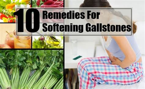 home remedies gallstones