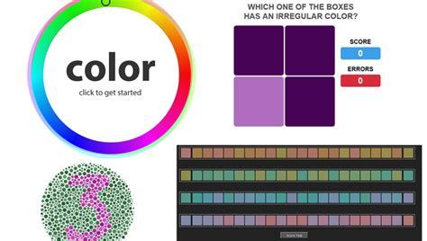 test your color vision is how i see color how you see color four that test