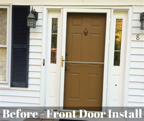 Front Door Installers Installation Sanford Hawley Unionville Avon Manchester Ct West Springfield Ma