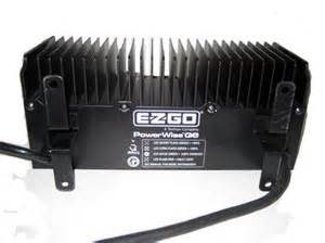e z go 08 up rxv powerwise qe golf cart automatic battery charger 48v 13a