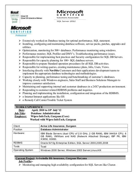performance tuning resume resume ideas