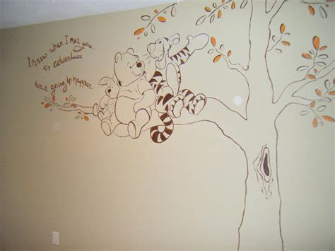 classic winnie the pooh wall decals for nursery winnie the pooh wall murals peenmedia