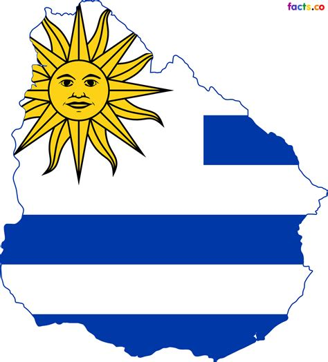 Uruguay Flag Outline by Uruguay Map Blank Political Uruguay Map With Cities