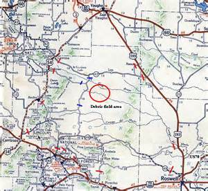 map of roswell roswell crash site location quotes