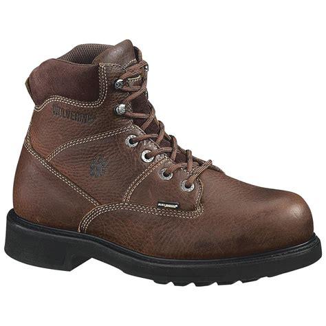 wolverine durashock boots wolverine s 6 quot tremor durashock boots brown 146244