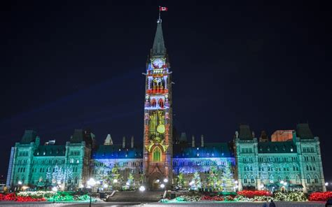 canada christmas lights shine bright lights across canada in the capital
