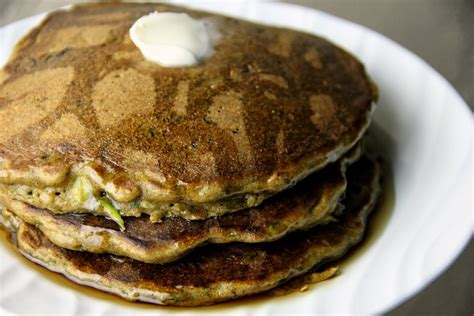 whole grain zucchini pancakes zucchini bread pancakes recipe dishmaps