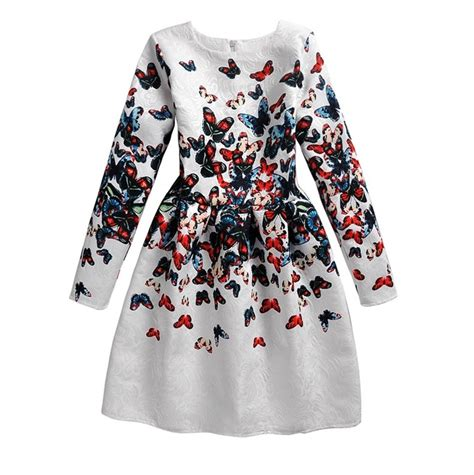 Best Seller Costumes Kostum Natal Slc 13 aliexpress buy floral print dresses clothes princess kid children
