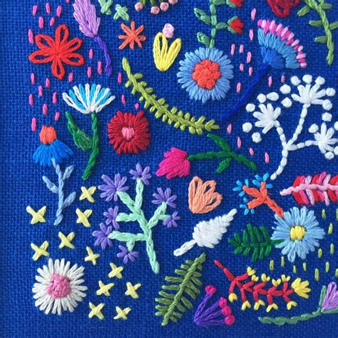 design for embroidery work 18 embroidery instagram feeds to follow design sponge