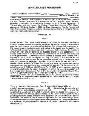 Template On Commercial Lease Agreement For Truck Fill Online Printable Fillable Blank Truck Lease Purchase Agreement Template