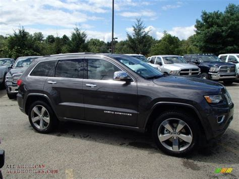 jeep granite crystal metallic 2014 jeep grand cherokee overland 4x4 in granite crystal