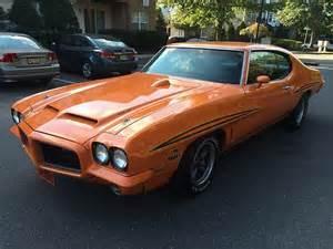 1972 Pontiac Gto Judge Find Used 1972 Pontiac Gto Judge Clone Sunkist Orange In