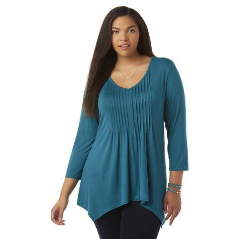 Blouse Knit Morenq knit tunic top kmart