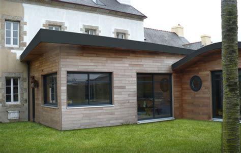 agrandissement cuisine sur terrasse l extension bois avec extenbois c est malin pour gagner