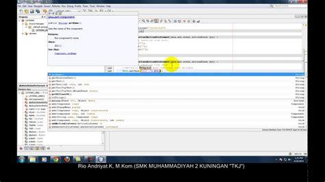 tutorial java com netbeans tutorial java netbeans jlabel textfield youtube