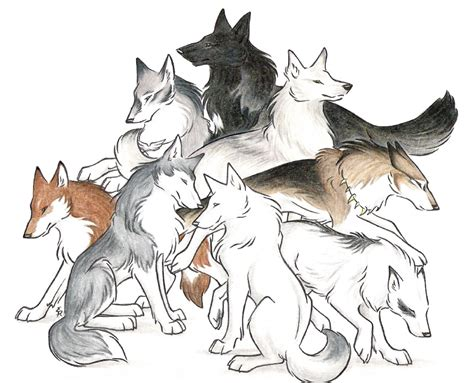 wolves drawings wolves i by wildspiritwolf on deviantart