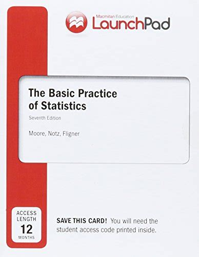 launchpad for s the basic practice of statistics twelve month access books launchpad for s the basic practice of statistics