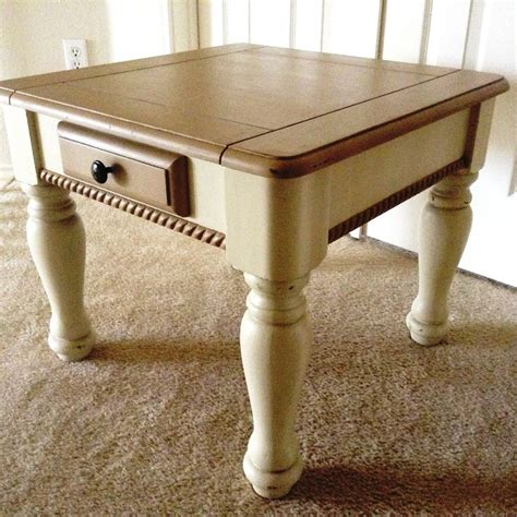 oak colored end tables 17 best images about s garden of refinished treasures