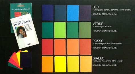 test dei colori di luscher l 220 scher test