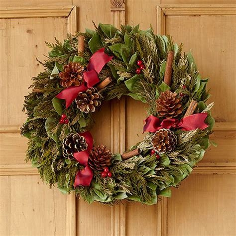 Handcrafted Wreaths - 17 best images about deck the halls on vintage