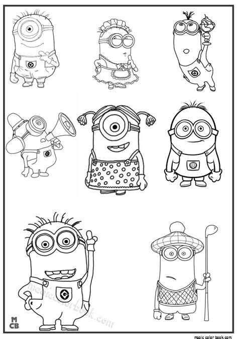thanksgiving minion coloring page minions free coloring pages for kids 01