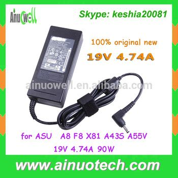 Adaptor Laptop Asus A43s original new a8 f8 x81 a43s a55v laptop ac adapter for