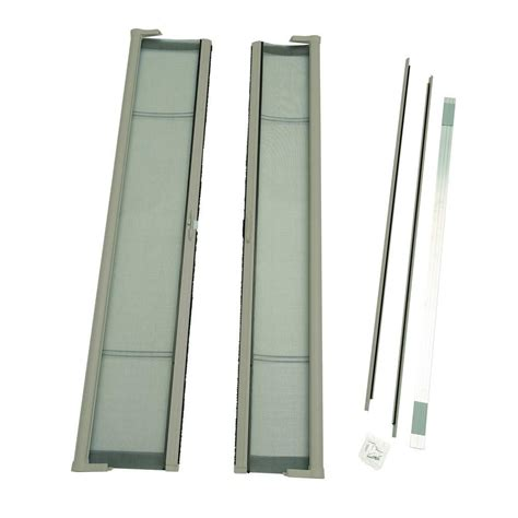 odl 72 in x 80 in brisa sandstone standard height door kit retractable screen door