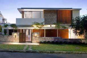 Home Design By Architect by Lane Cove River House In Sydney Australia