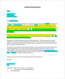 Format Of Acceptance Of Resignation Letter by Sle Resignation Acceptance Letter 6 Exles In Pdf Word