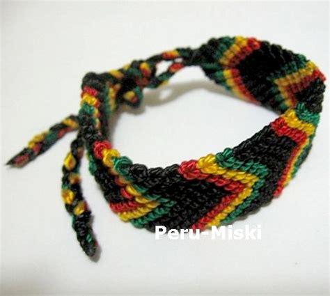 50 rasta friendship bracelets handmade 0 75 quot wide