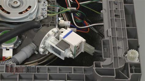 dishwasher won t drain drain pump replacement