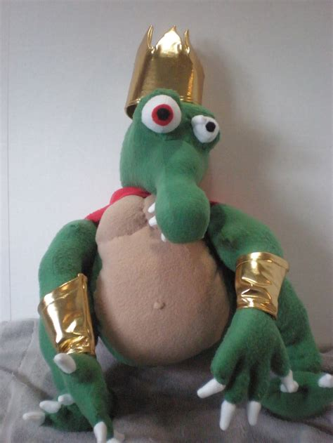 king k rool figure king k rool by cosmiccrittercrafts on deviantart