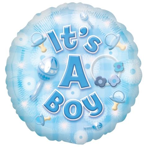 Balon Foil Baby Boy Balon Baby Shower Balon Baby Boy baby boy foil balloon local birmingham florists