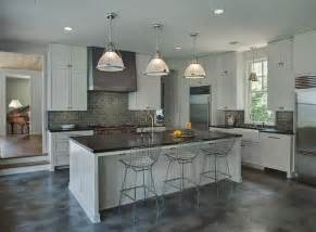 gray kitchen cabinets with black countertops 9385