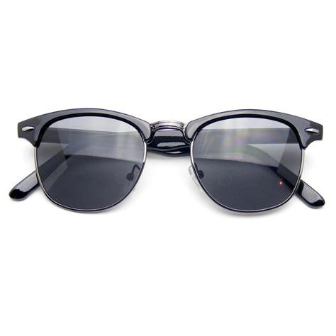 Frame Wayfarer Clubmaster Clear vintage inspired classic half frame wayfarers clear lens glasses www tapdance org